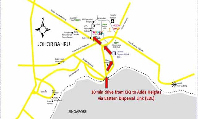 Adda-Heights-Site-Map