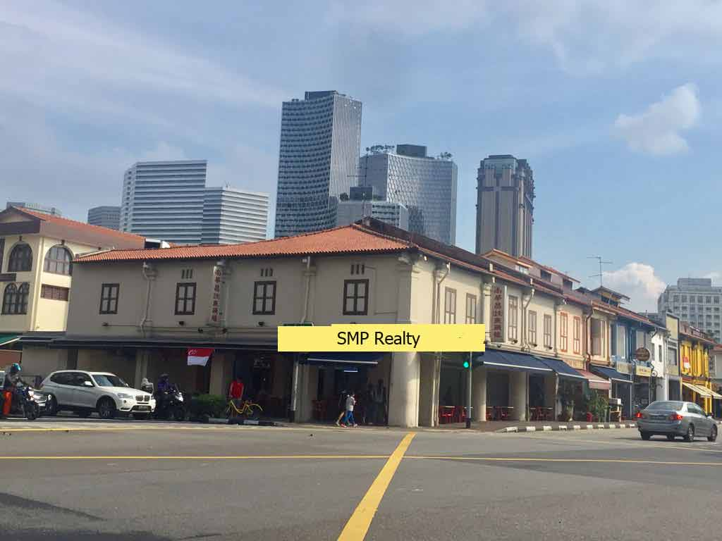 Bugis vicinity 3 adjoining 2/storey renovated conservation shop house for Sale